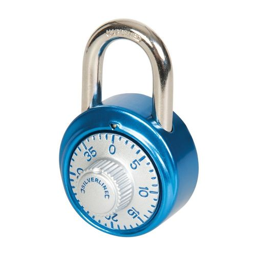 Silverline 340577 Dial Combination Padlock 40mm